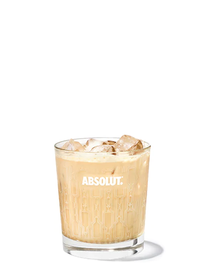 Absolut Vodka Russian Recycled cocktail coffee