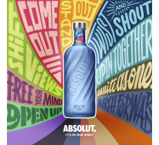 Absolut Vodka MOVEMENT Limited Edition 2020  in 2 formaten